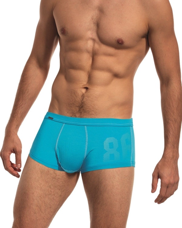 Men's boxer Turquoise Trunks have been tested by professional runners, unique design, making them your ideal partner for sports
