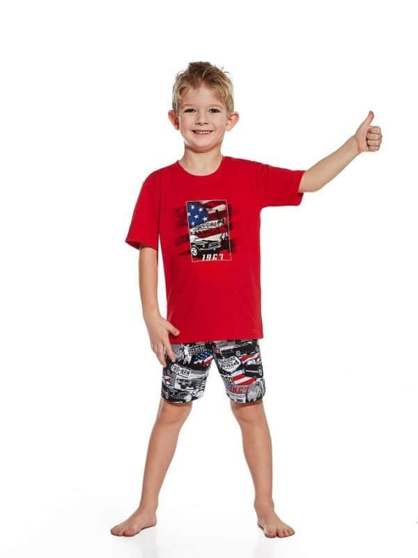 Pijama Menino America feito de 100 % algodão de elevada qualidade
