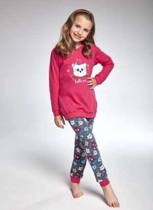 Pijama Menina Owl Modelo Mãe e filha