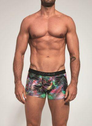 Boxers de homem - simplesmente perfeitos com estampado de inspiração tropical.